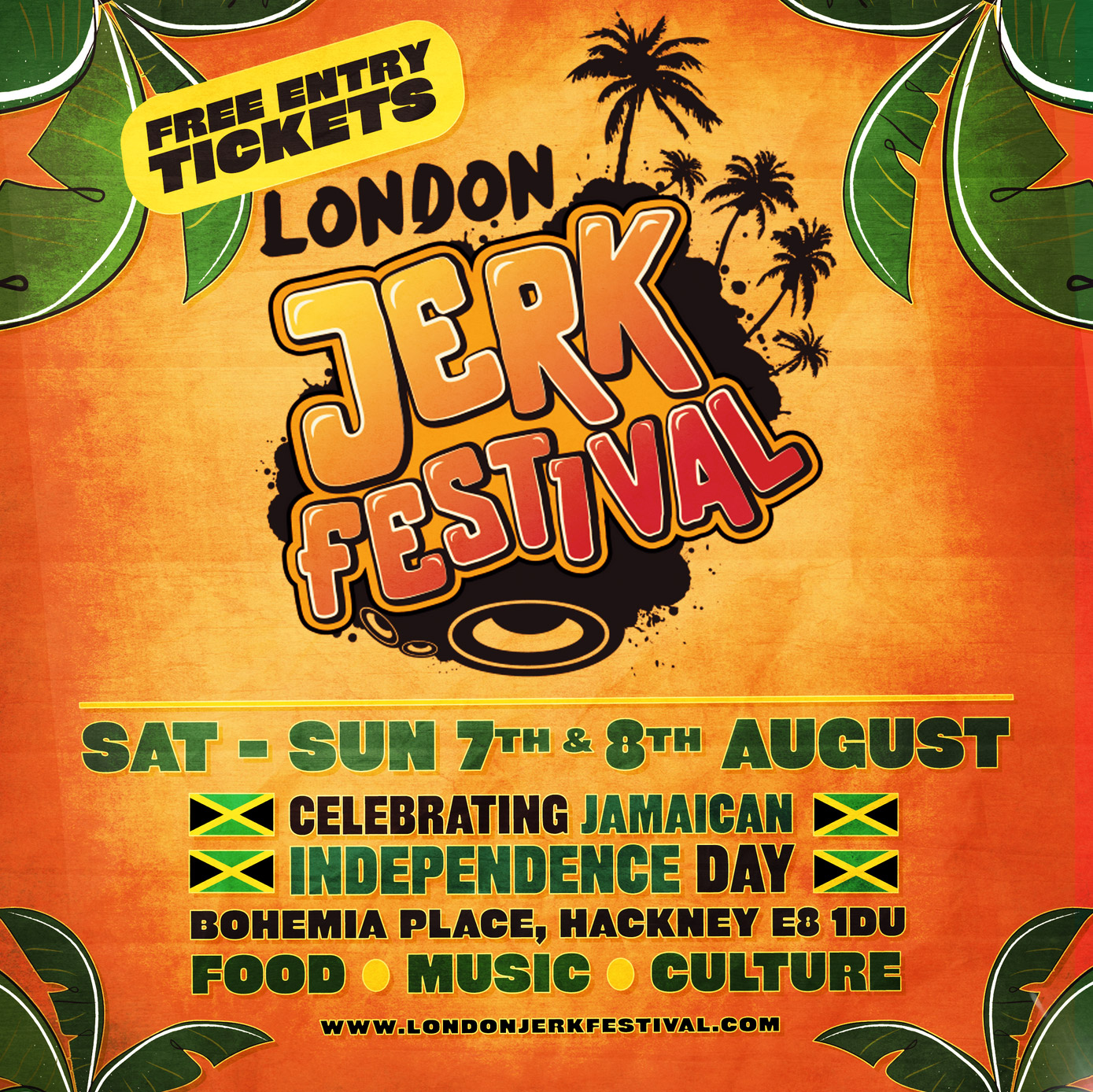 London Jerk Festival 2021 Event