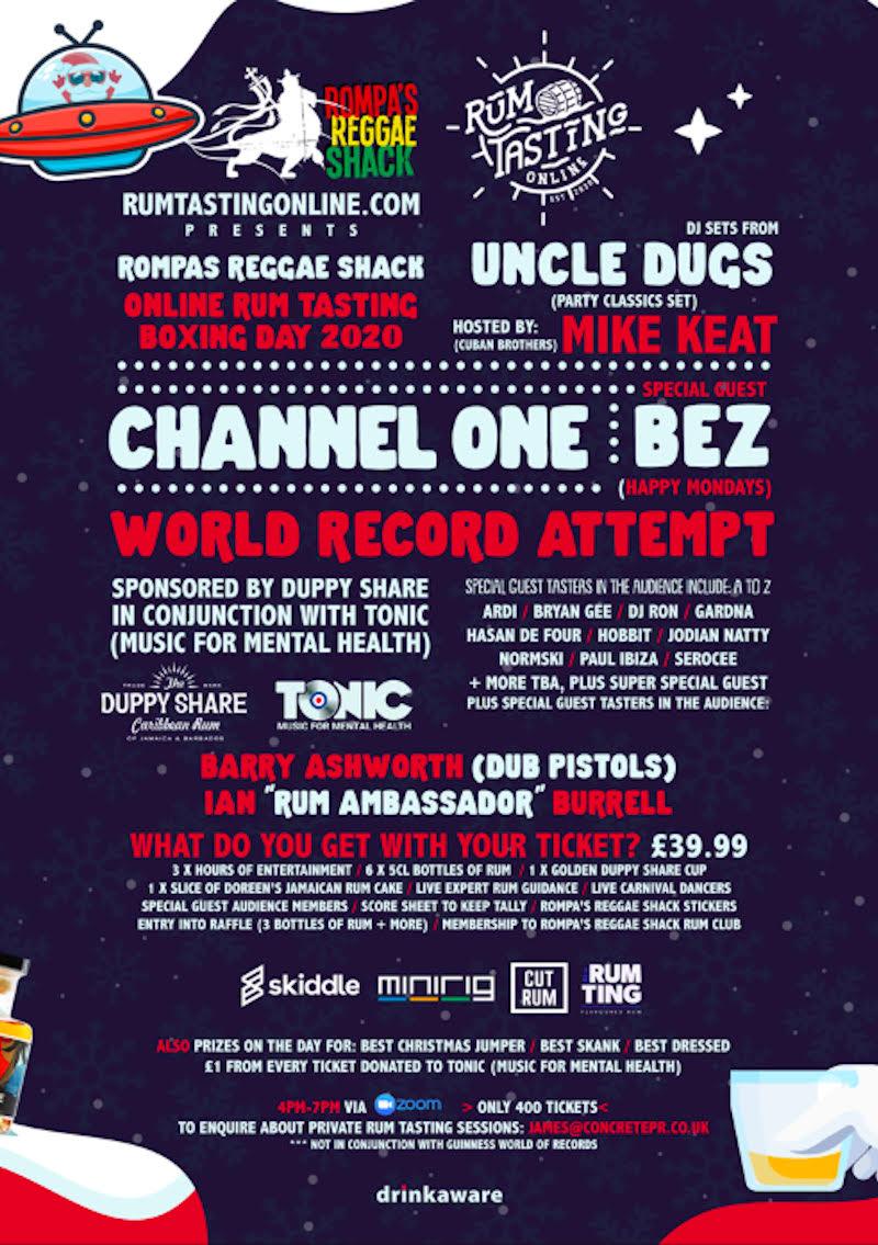 London Jerk Festival Flyer